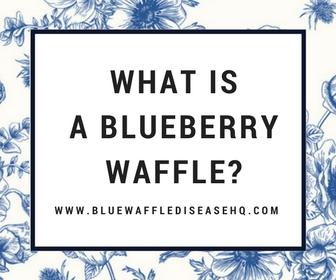 blue waffles photos